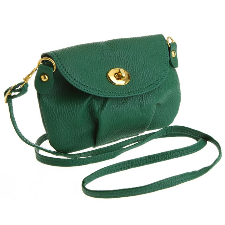 898b276cf4ff Women Handbag Satchel Shoulder Purse Tote (GREEN) on Luulla